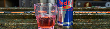 Giggling Grizzly Red Bull Shots.